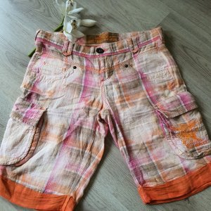 Mogul Short taille haute orange