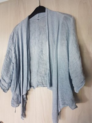 Made in Italy Shirt Jacket light blue linen