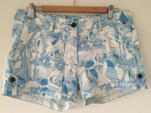 Kurze Sommershorts mit floralen Muster von Napapijri