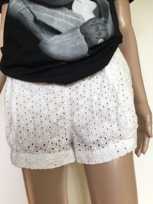 H&M Conscious Collection Shorts bianco