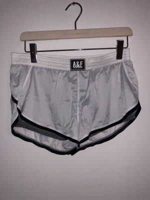 Abercrombie & Fitch Sportbroek zwart-wit