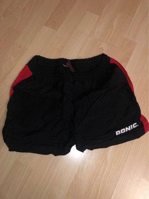 Donic Pantalon de sport noir-rouge foncé