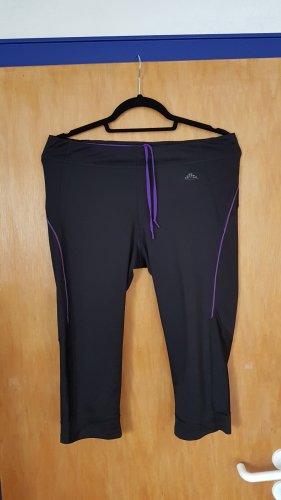 kurze Sporthose Leggings H&M Gr. L schwarz lila