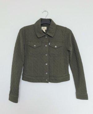 Levi's Veste chemise vert olive-gris vert