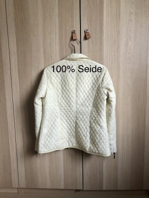 Best Connections Quilted Jacket natural white-cream silk