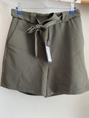 kurze Stoffhose in khaki von Only