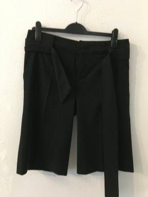Zara Woman Pantalone a 3/4 nero Poliestere