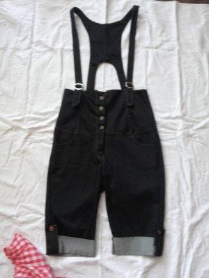 Bib Shorts black cotton