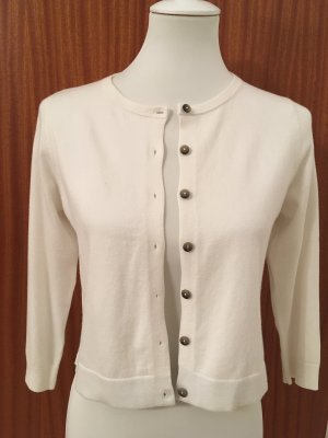 Boden Cardigan natural white cotton