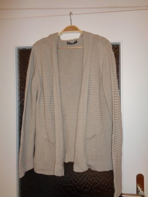 Blind Date Coarse Knitted Jacket beige