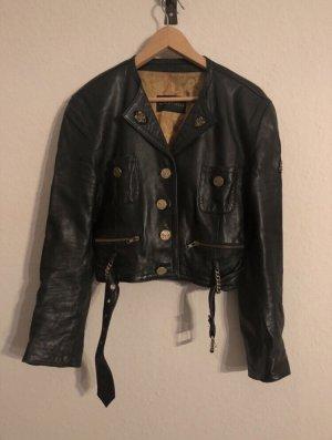 Kurze, stylische vintage Lederjacke von Blacky Dress