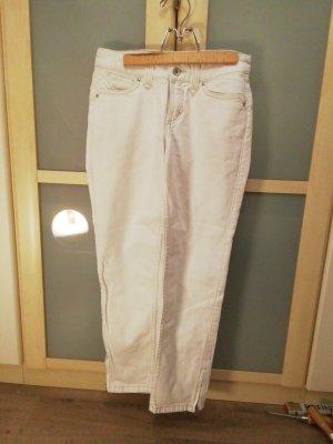 kurze weiße Hose