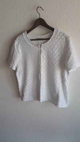 Gerry Weber Shirt Jacket white cotton