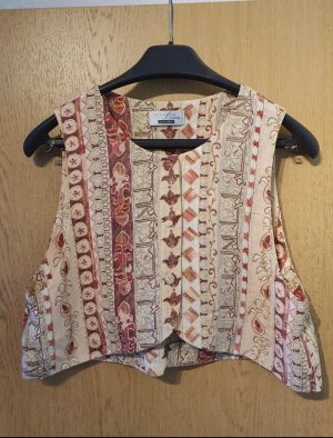 Vera Mont Waistcoat brown-red