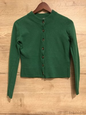 COS Knitted Cardigan forest green