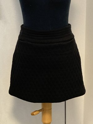 & other stories Miniskirt black cotton
