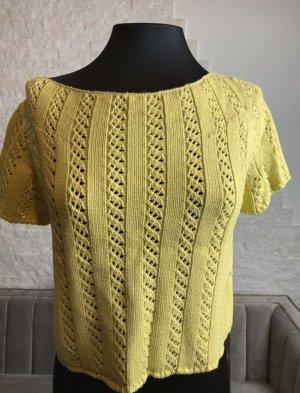 Tandem Jersey de manga corta amarillo limón