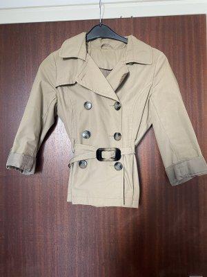 Kurzer Beige H&M Trenchcoat