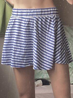 H&M Skaterska spódnica szary-ciemnoniebieski
