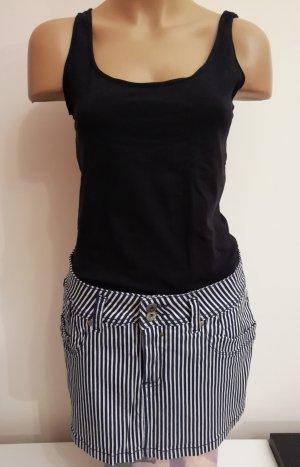 Colcci Miniskirt white-dark blue