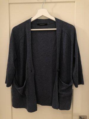 Kurzer blauer Cardigan Größe M