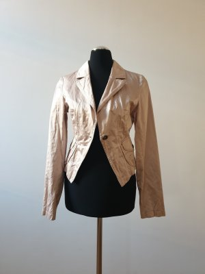 H&M Divided Blazer en cuir multicolore