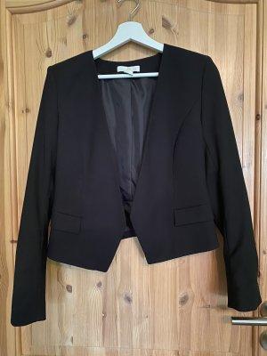 H&M Korte blazer zwart