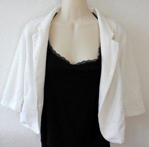 American Rag CIE Blazer in jersey bianco sporco Cotone