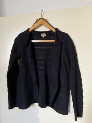 Only Cardigan all'uncinetto nero