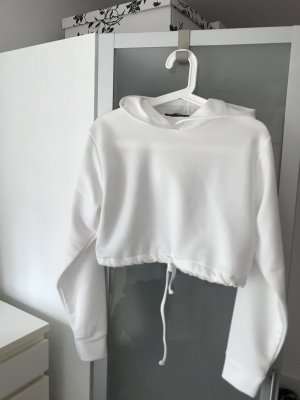 Boohoo Cropped Jumper white