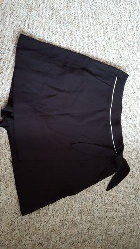 edc Falda pantalón blanco-negro