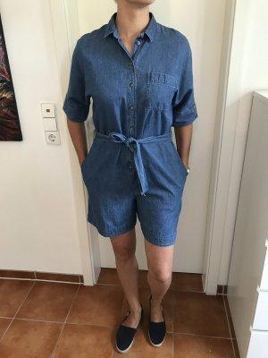 Kurzer Jeans Jumpsuit