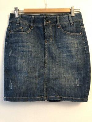 Kurzer Jeans-Rock