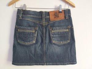 Freesoul Jupe en jeans bleu