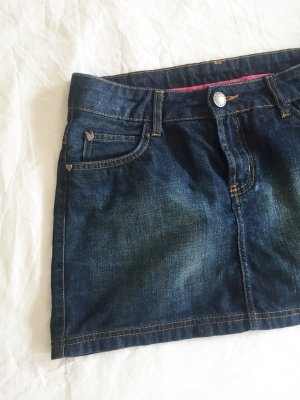 Zara Trafaluc Denim Skirt multicolored cotton