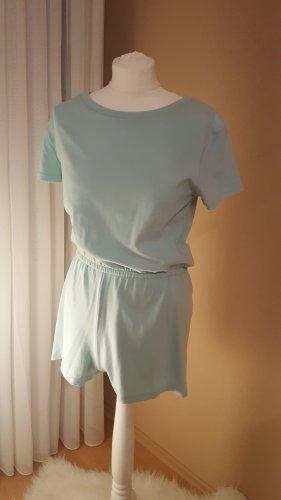 Bikbok Jumpsuit turkoois-grijs-groen