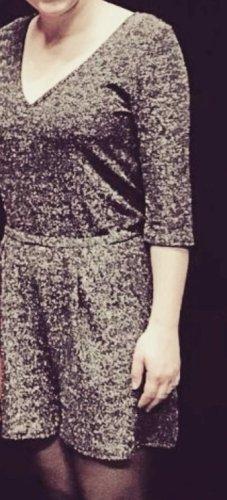 Even & Odd Jumpsuit zwart-zilver