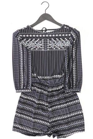 Kurzer Jumpsuit Größe L schwarz aus Polyester