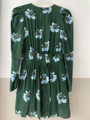 Maje Mini Dress forest green