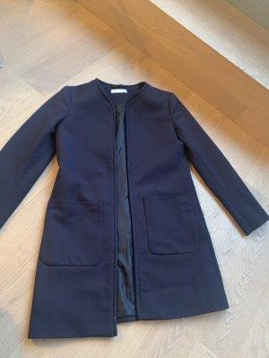 H&M Long Jacket dark blue
