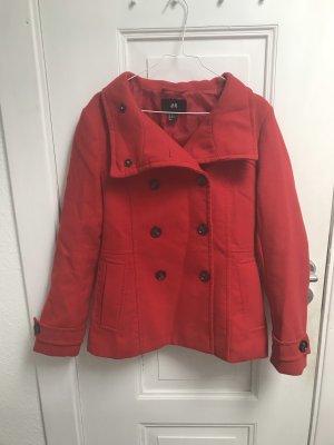 Kurzer Mantel rot
