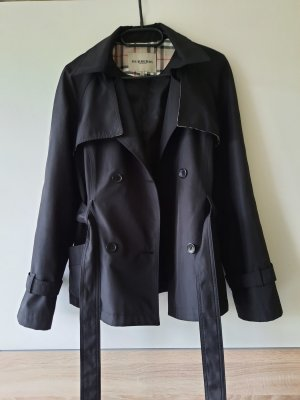 Burberry Sukienka płaszczowa czarny-piaskowy brąz