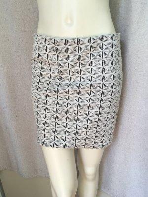 Atmosphere Miniskirt white-black