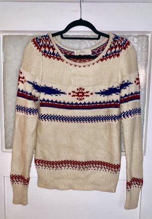 Sessun Maglione norvegese multicolore