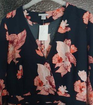 Kurzer Overall in floralem Muster H&M Neu