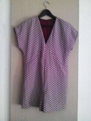 Zara Trafaluc Bib Shorts multicolored polyester