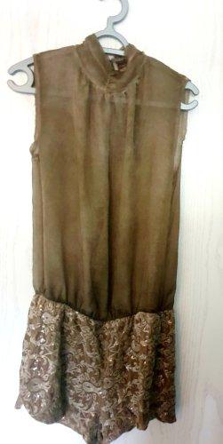 AX Paris Kurzer Jumpsuit bronze-chameau