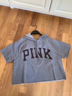 Pink Victoria's Secret Maglione con cappuccio grigio