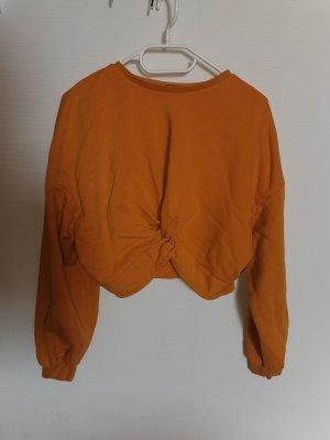 H&M Kabeltrui goud Oranje