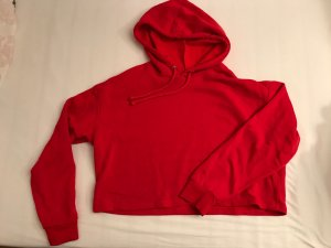 H&M Capuchon sweater rood